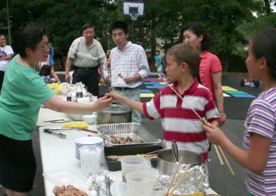 夏令營:野外燒烤